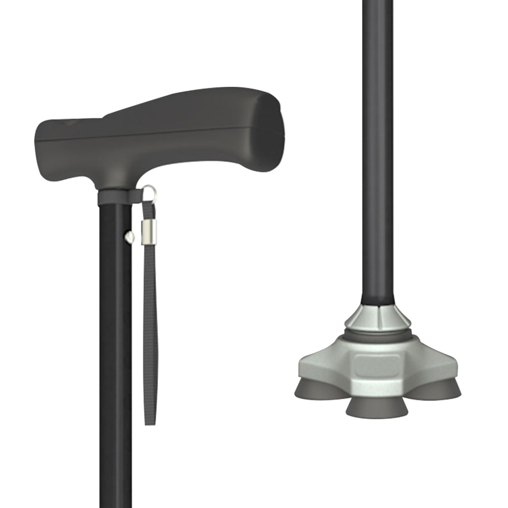 Image of HurryCane Freedom Edition handle and base
