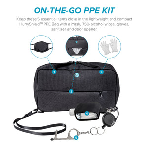 HurryShield™ PPE Bag & Kit