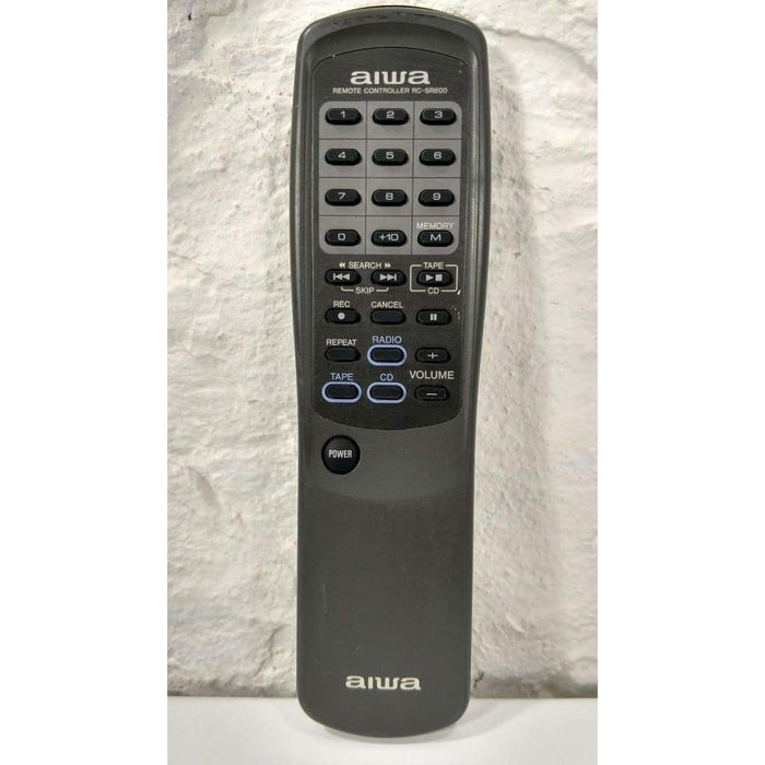 Aiwa RC-SR600 Audio CD Cassette Player Stereo Remote Control - Remote Control