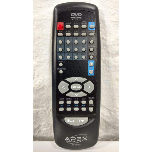 Apex Digital DV-R5003 DVD Player Remote Control for DVR5003 AD500V3 - Remote Control