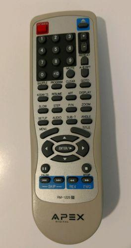 Apex Digital RM-1225 Remote Control