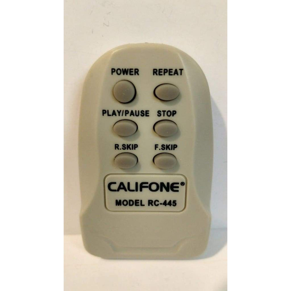 Califone RC-445 Remote Control for 2400 Series Audio System - Remote Control