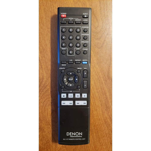 Denon Professional RC-1177 Audio Remote Control for DN700C Network CD/Media Player - Remote Controls