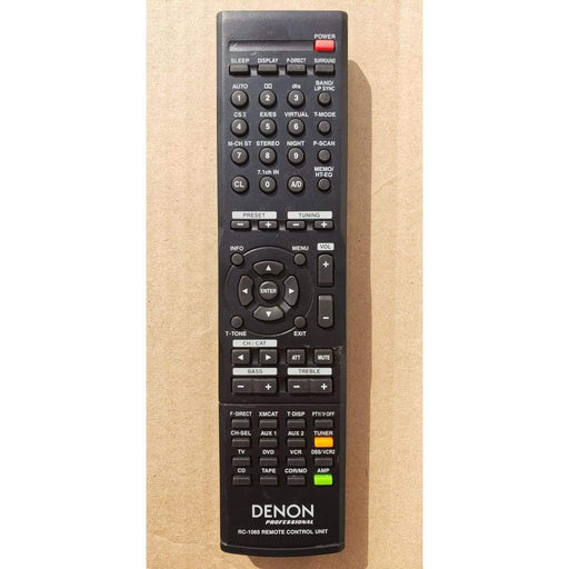 Denon RC-1065 Audio Remote for DN-A7100 DNA1700 Pre-Amp - Remote Controls