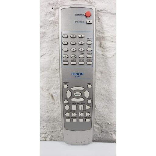 Denon RC-963 DVD Remote for DNV200 DNV210 DNV300 DNV310 DRC255 - Remote Control