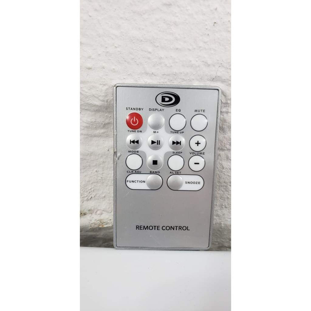 Durabrand HM3817DT N-RS Remote Control for Micro Hi-Fi CD Audio System - Remote Control