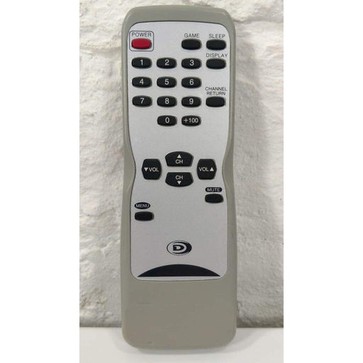 Durabrand NE142UD TV Remote Control for DCT1304R DWT1304 DWT1905 DWT2405 - Remote Controls