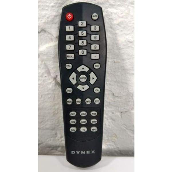 Dynex 10H07 T901 TV Remote Control - Remote Controls
