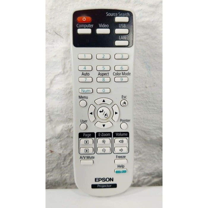 Epson 154720001 Projector Remote Control for EX3210 EX5210 EX7210 - Remote Control