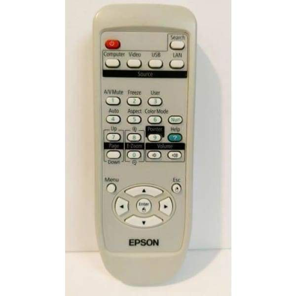 Epson Projector 150672700 Remote Control POWERLITE 825 826W 84 85 - Remote Controls