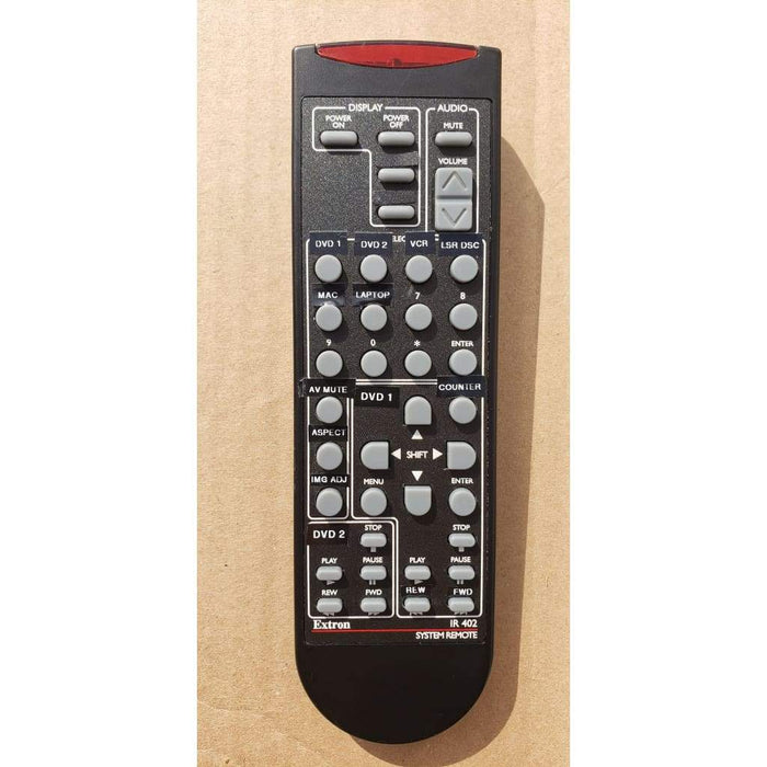 Extron IR 402 Remote Control for System 5 IP and MLC 226 IP - Remote Controls