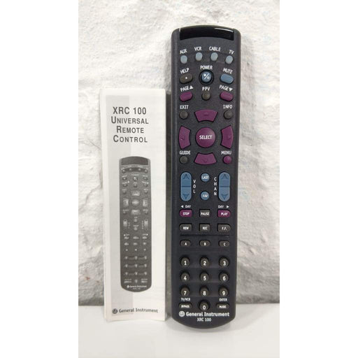 General Instrument XRC 100 Universal Remote Control - Remote Control