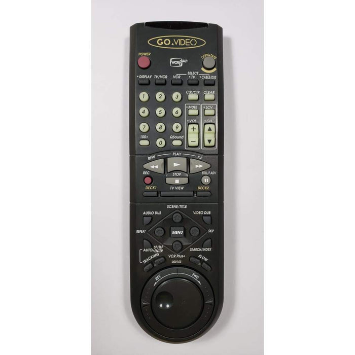 Go Video 00010S VCR Remote Control - Remote Control