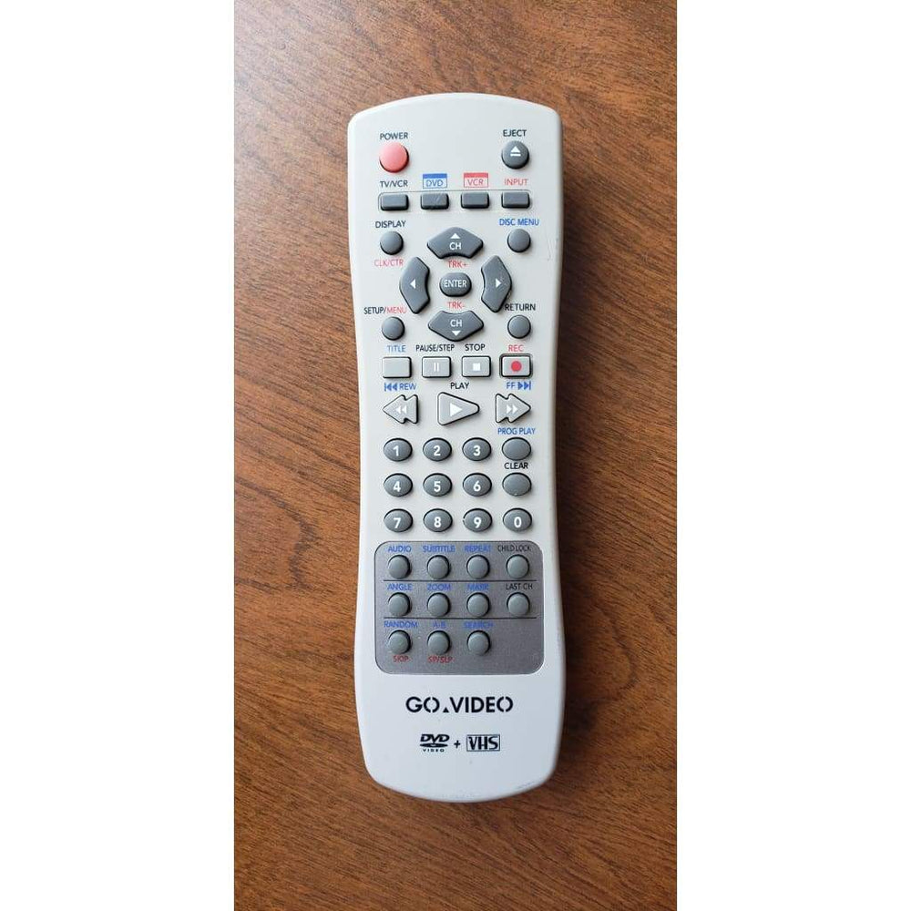 Go Video HS1-1 Combo DVD/VCR Player Remote Control