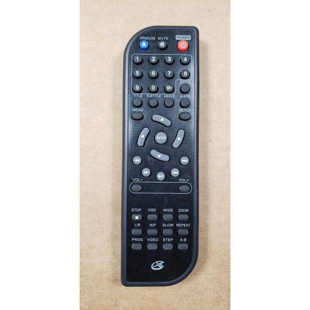 GPX D200BK DVD Player Remote Control