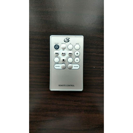 GPX HM3817DT Remote Control for Micro Hi-Fi CD Audio System - Remote Control