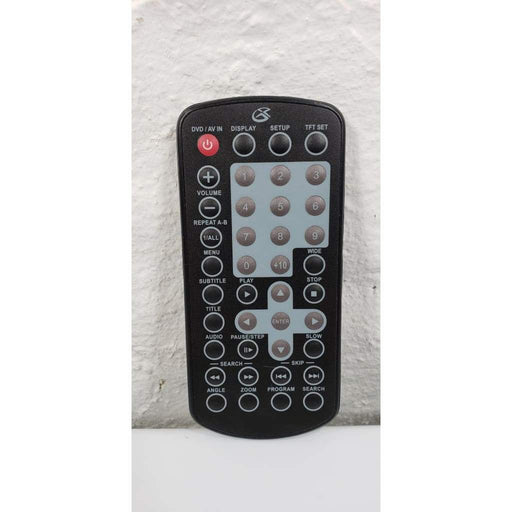 GPX PD708B Portable DVD Player Remote Control - Remote Control