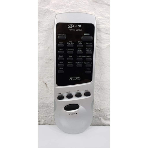 GPX S7695 Audio 5-CD Changer Remote Control - Remote Control