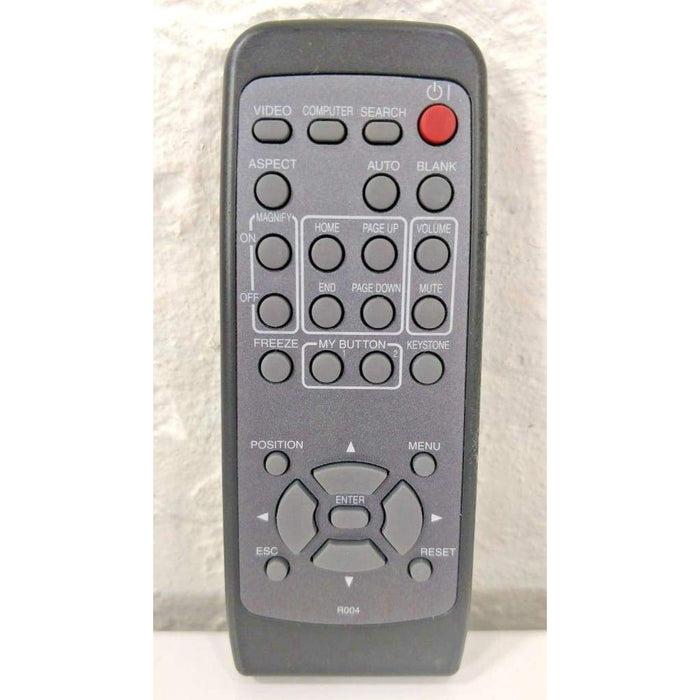 Hitachi R004 LCD Projector Remote Control for CD-X200 CP-X305 DUKANE 3M - Remote Control