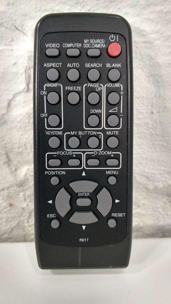 Hitachi R017 Projector Remote Control