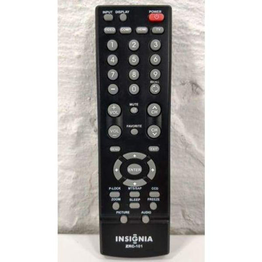 Insignia ZRC-101 LCD TV Remote Control for NSLCD47HD09 NSLCD1509 - Remote Controls
