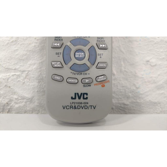 JVC LP21036-024 DVD VCR Remote for HR-XVC25U HR-XV25U HR-XVC23U - Remote Control