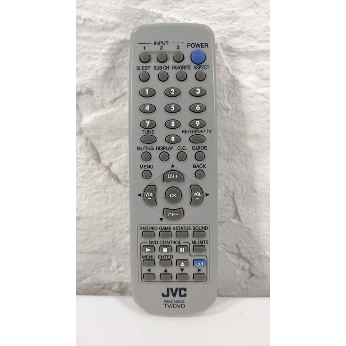 JVC RM-C1290G TV DVD Remote for AV-27F577 AV-27MF47 AV-32F577 32WF47 - Remote Controls