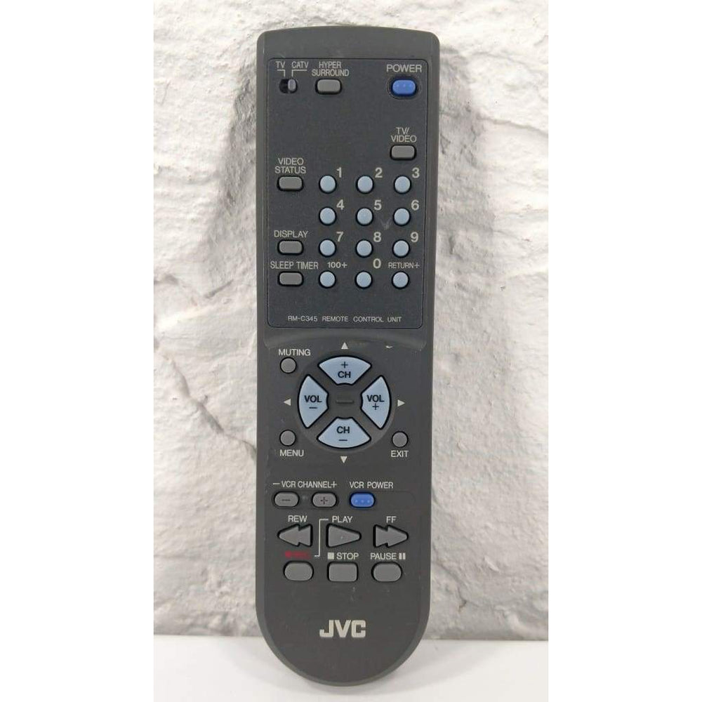 JVC RM-C345 TV Remote for AV-27020 AV-27020PH AV-32020 AV-32020A AV-32020PH - Remote Control