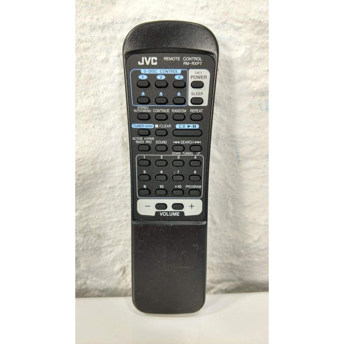 JVC RM-RXP7 CD Remote Control for PC-XC11 PC-XC12 PC-XC7 PC-XC8 PC-XC11BK - Remote Control