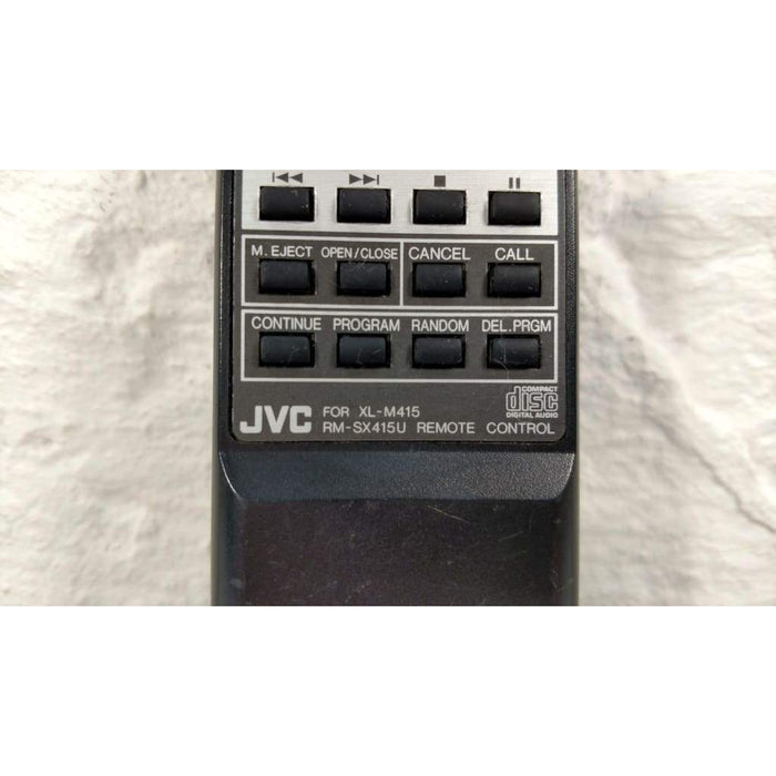 JVC RM-SX415U CD Player Remote Control for XL-M415 XL-M415TN XL-M415TNJ - Remote Controls