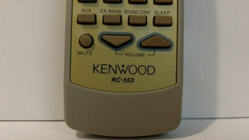 Kenwood RC-553 Audio System Remote Control