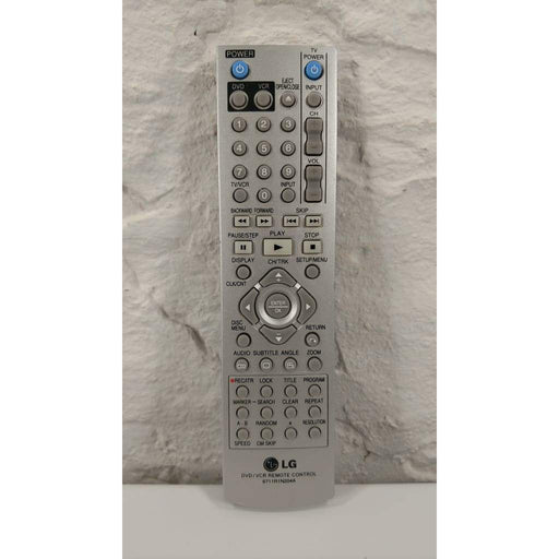 LG 6711R1N204A DVD VCR TV Remote Control for V194H V914H V914H/VCR - Remote Controls