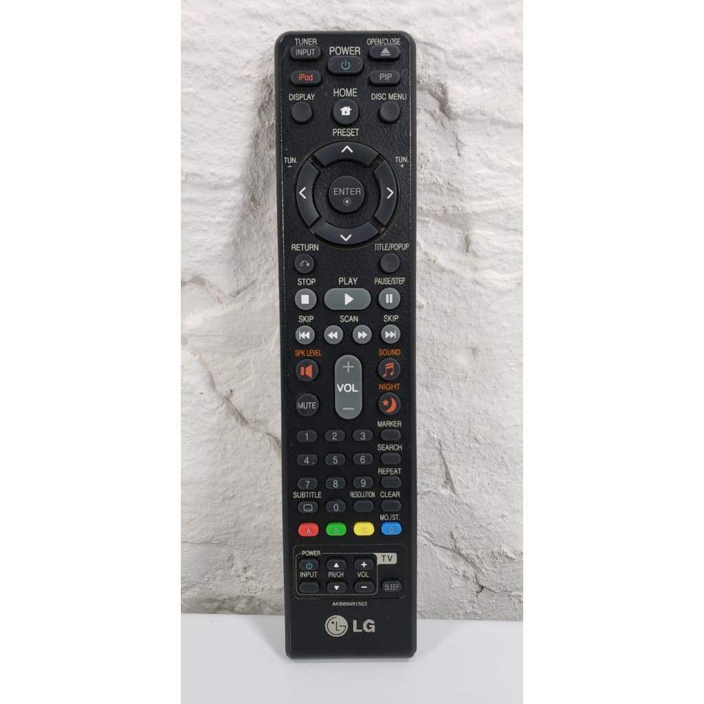 LG AKB69491503 Home Theater System Remote Control for LHB953 LHB977 - Remote Control