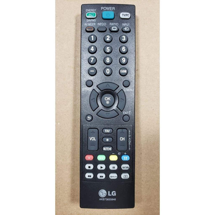 LG AKB73655848 TV Remote Control for 24MA31D 26MA31D - Remote Controls