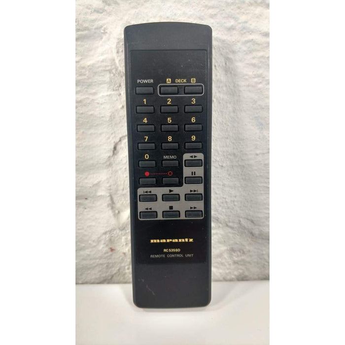Marantz RC535SD Cassette Deck Remote Control for RTRC535SD SD535 SD-535 - Remote Control