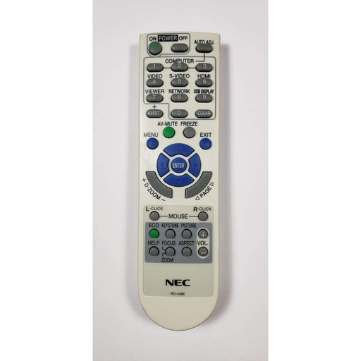 NEC RD-448E Projector Remote for V260X+ V300X+ V260 RD-448E RD-443 NP-VE280 - Remote Controls