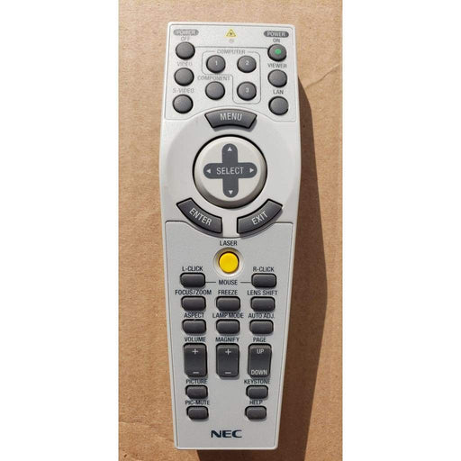 NEC RD432E Projector Remote for NP4100W NP4000 NP4100 NP4001 - Remote Controls