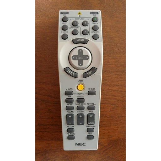 NEC RD433E Remote Control for 7N900801 NP1150 NP1250 NP2150 NP3150 etc. - Remote Control