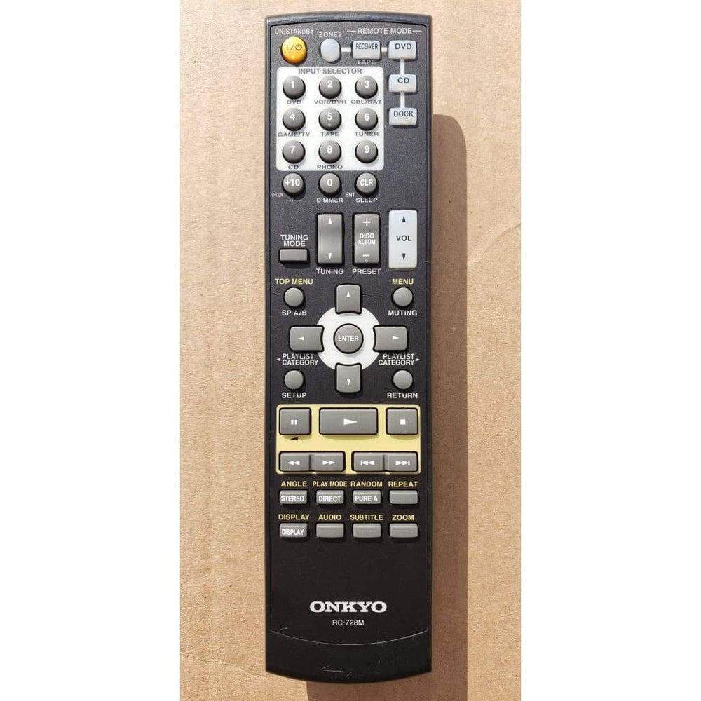 ONKYO RC-728M A/V Receiver Remote for TX8555 TX8522 - Remote Controls