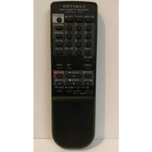 Optimus VCR Remote Control Model 109 - Remote Controls