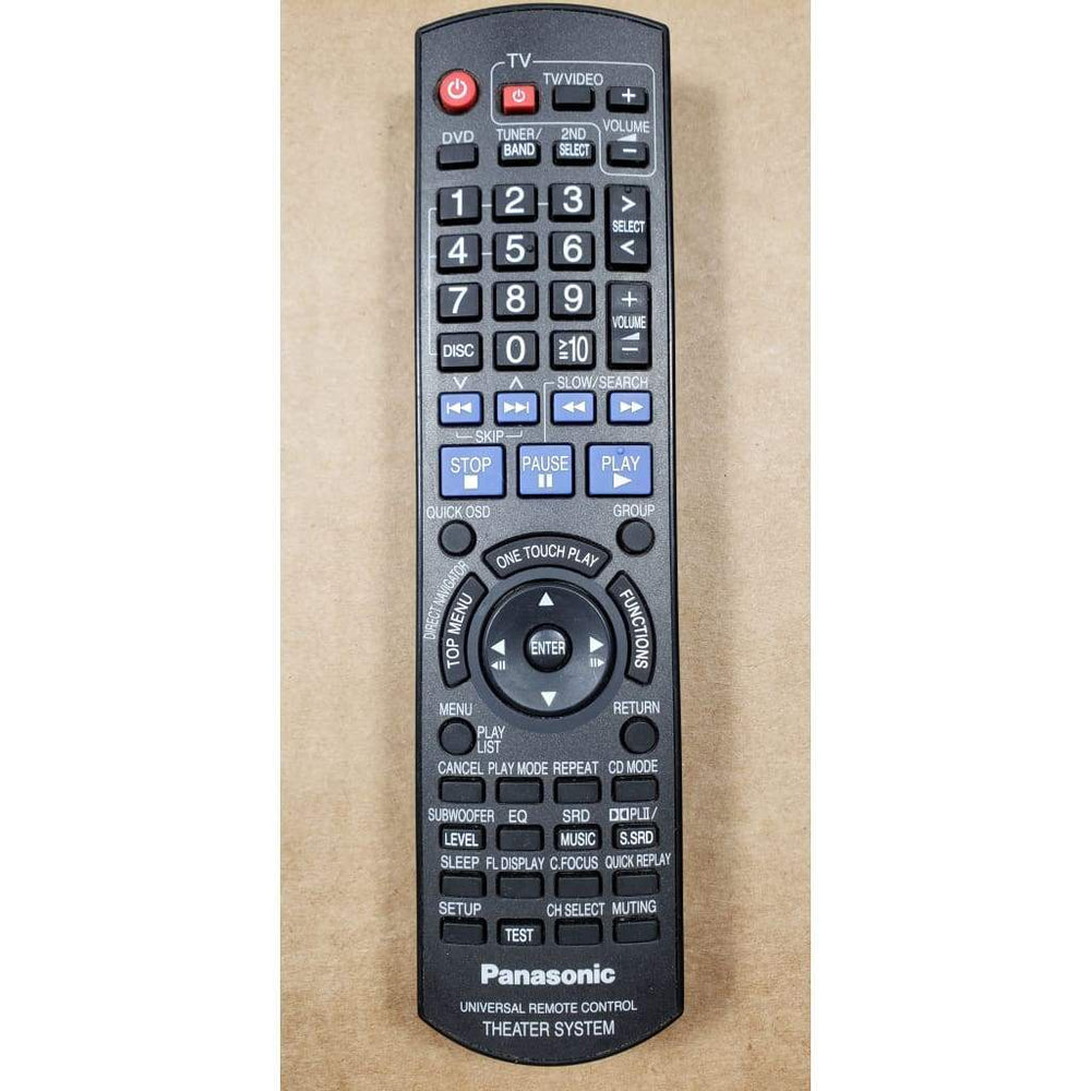 Panasonic EUR7662YW0 Home Theater System Remote Control