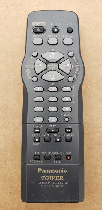 Panasonic LSSQ0278 TV/VCR Remote Control