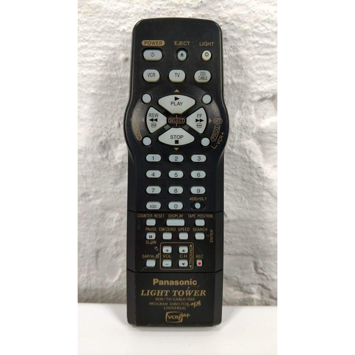 Panasonic LSSQ0286 Light Tower Plus VCR Remote for PVV4611 - Remote Controls