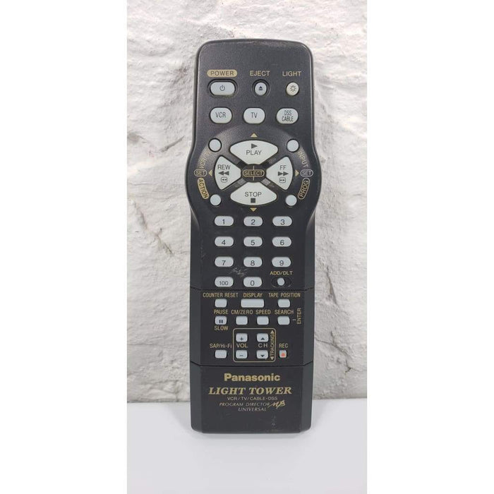 Panasonic LSSQ0342 Light Tower VCR VHS Remote Control for PV-V462 - Remote Control