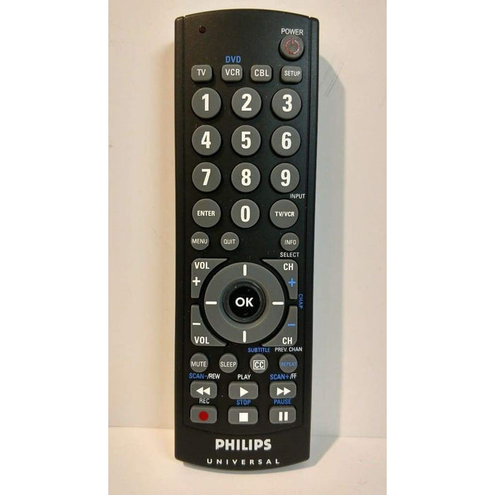 Philips CL035A Programming Universal Remote Control - Remote Controls
