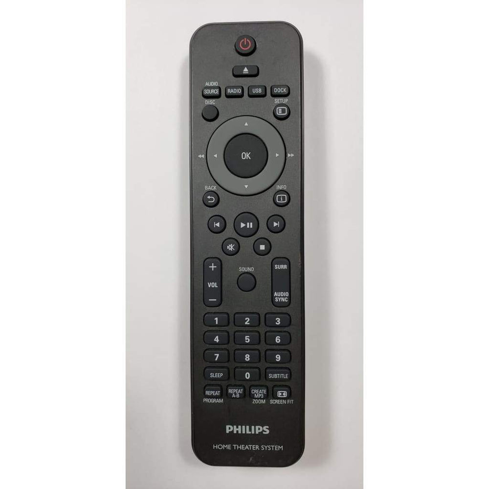 Philips Home Theater System Remote Control - Remote Control