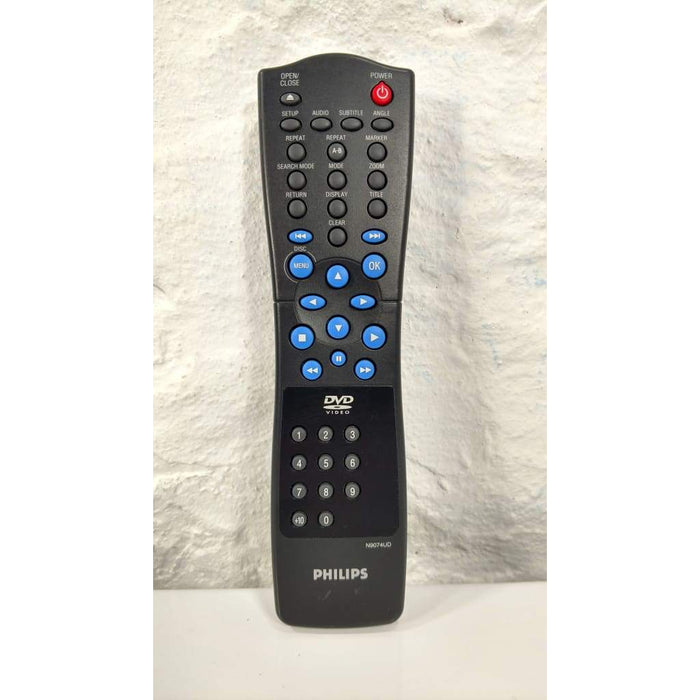 Philips N9074UD DVD Player Remote Control for DVD609 DVD611 DVD619 DVD621 - Remote Control