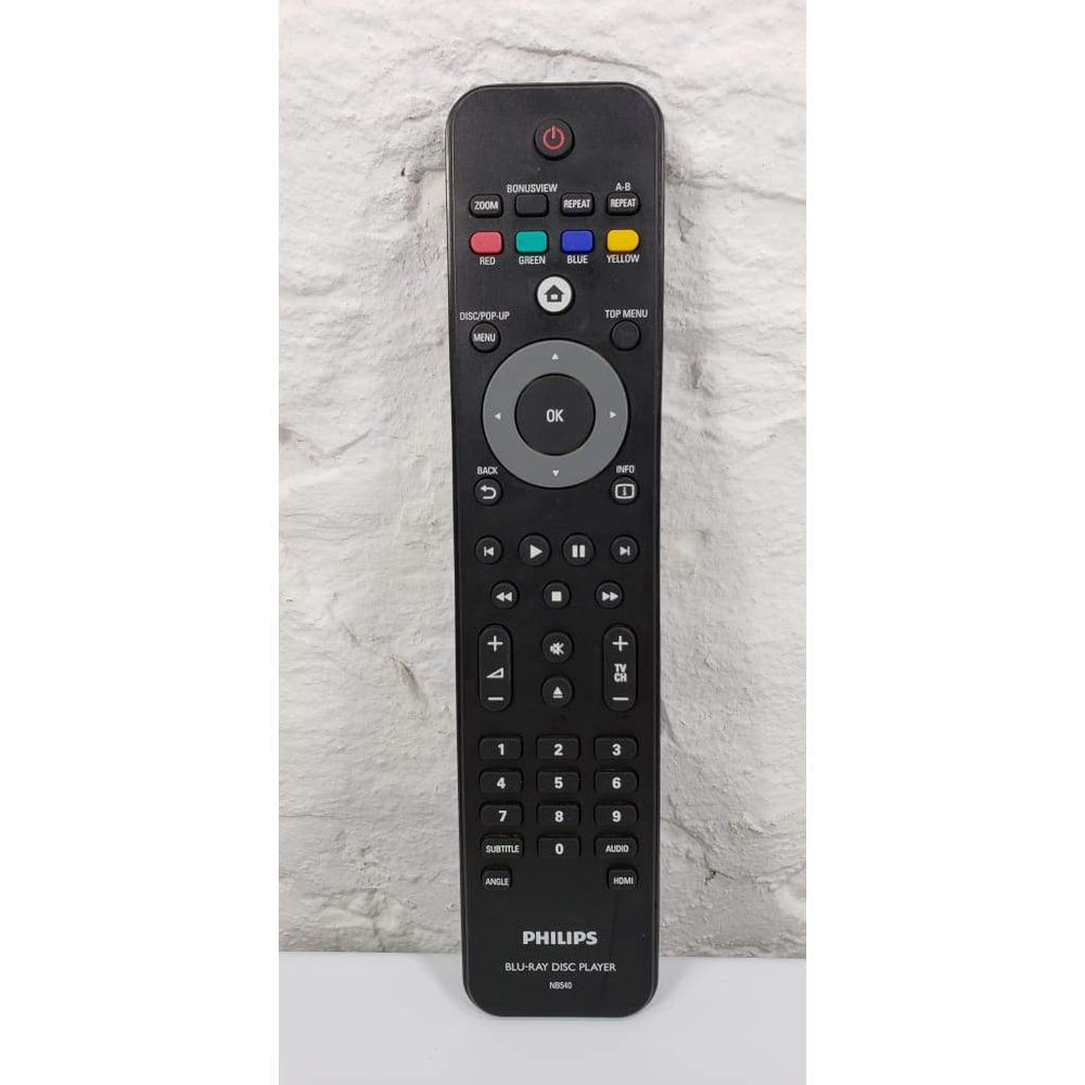 Philips NB540 Blu-Ray Remote for BDP5005/F7 BDP5012/F7 BDP5110/F7 etc. - Remote Control
