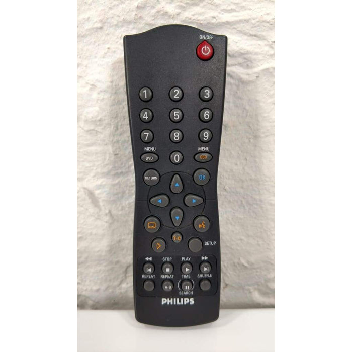 Philips RC283204/01 DVD Remote for DVD201 DVD701 DVD701AT DVD701AT02 DVD701AT21 - Remote Controls