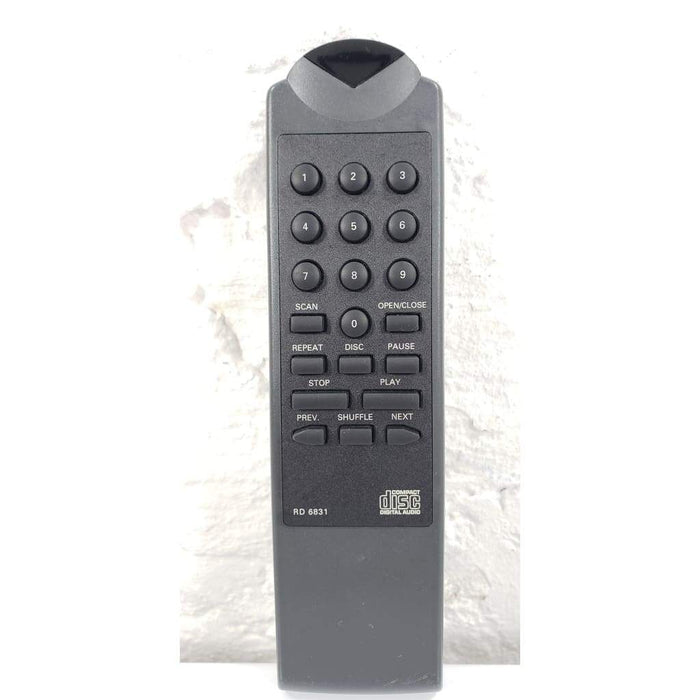 Philips RD 6831 CD Player Remote for CD200 CD920P CD8500 CDC794 - Remote Control